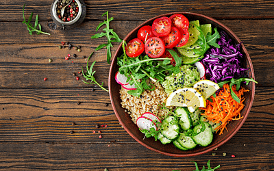 Salade Vitaminée Parfaite Pour L'été