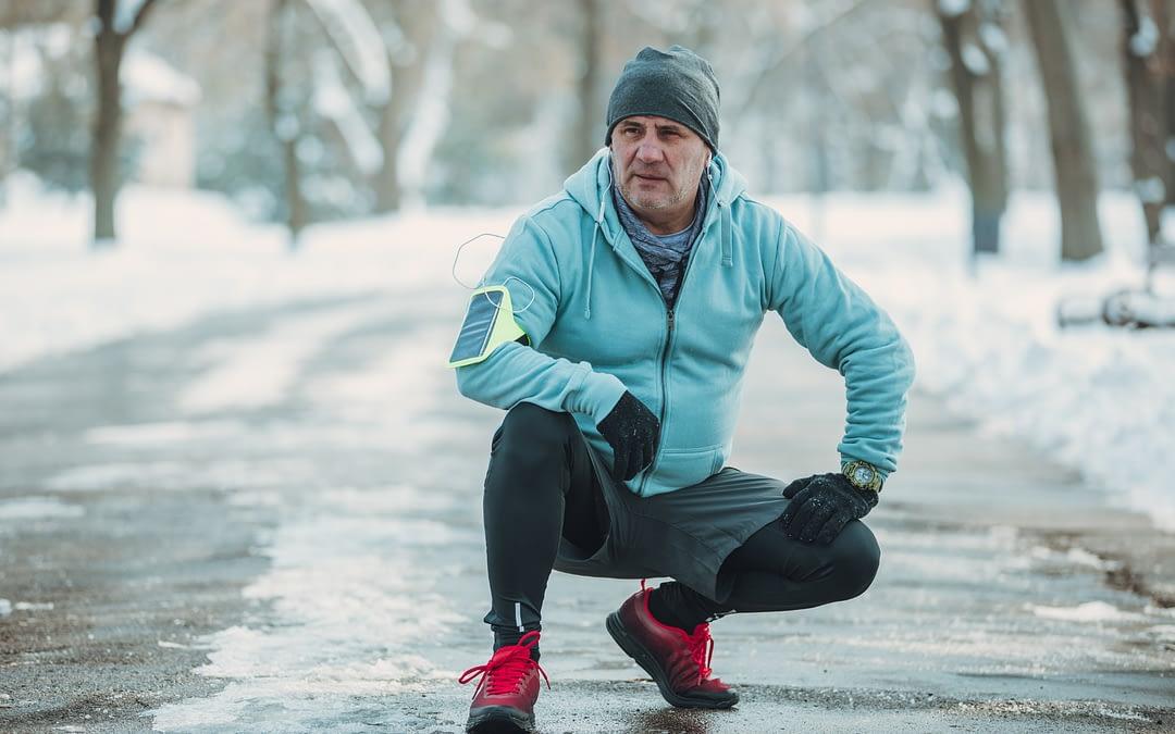 Faire du sport quand il fait froid